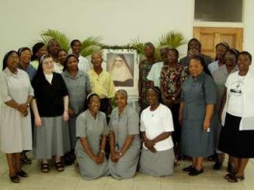 Feier der Ehrwürdigen Dienerin Gottes Mutter Franziska vom Kreuz in der Karibik