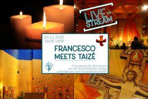 Francesco meets Taizé